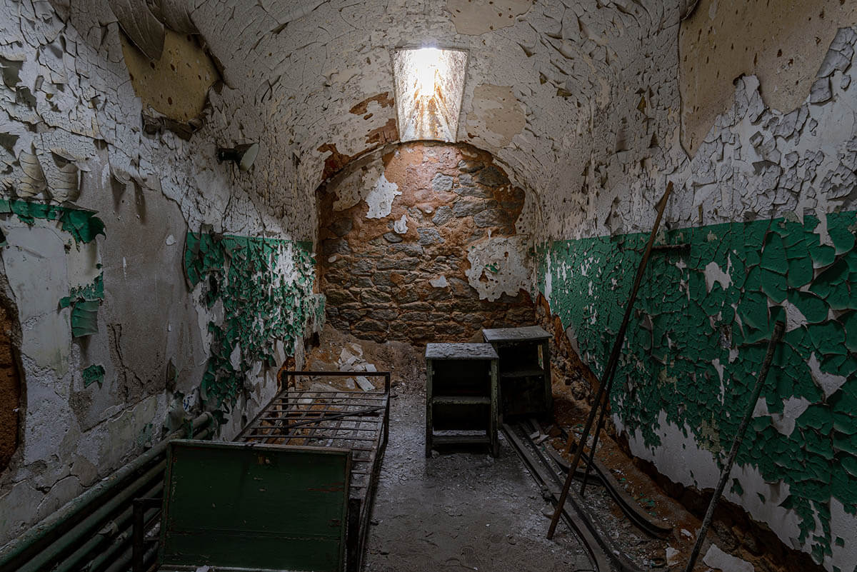 Eastern State Penitentiary in 2019. Photo: Peter Miller