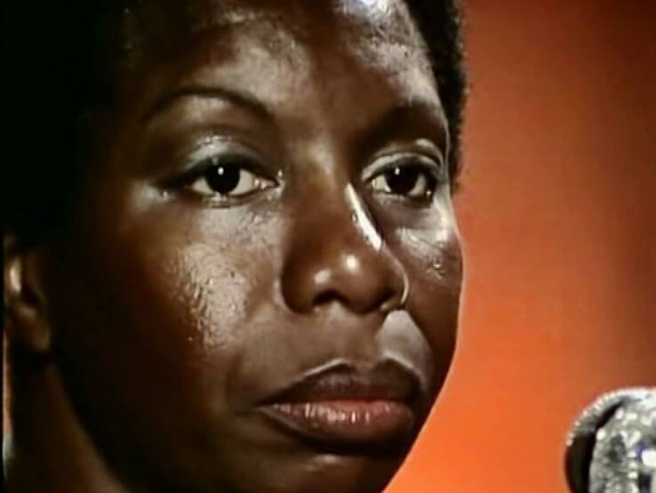 Nina Simone at Montreux Jazz Festival, 1976. Video Still.