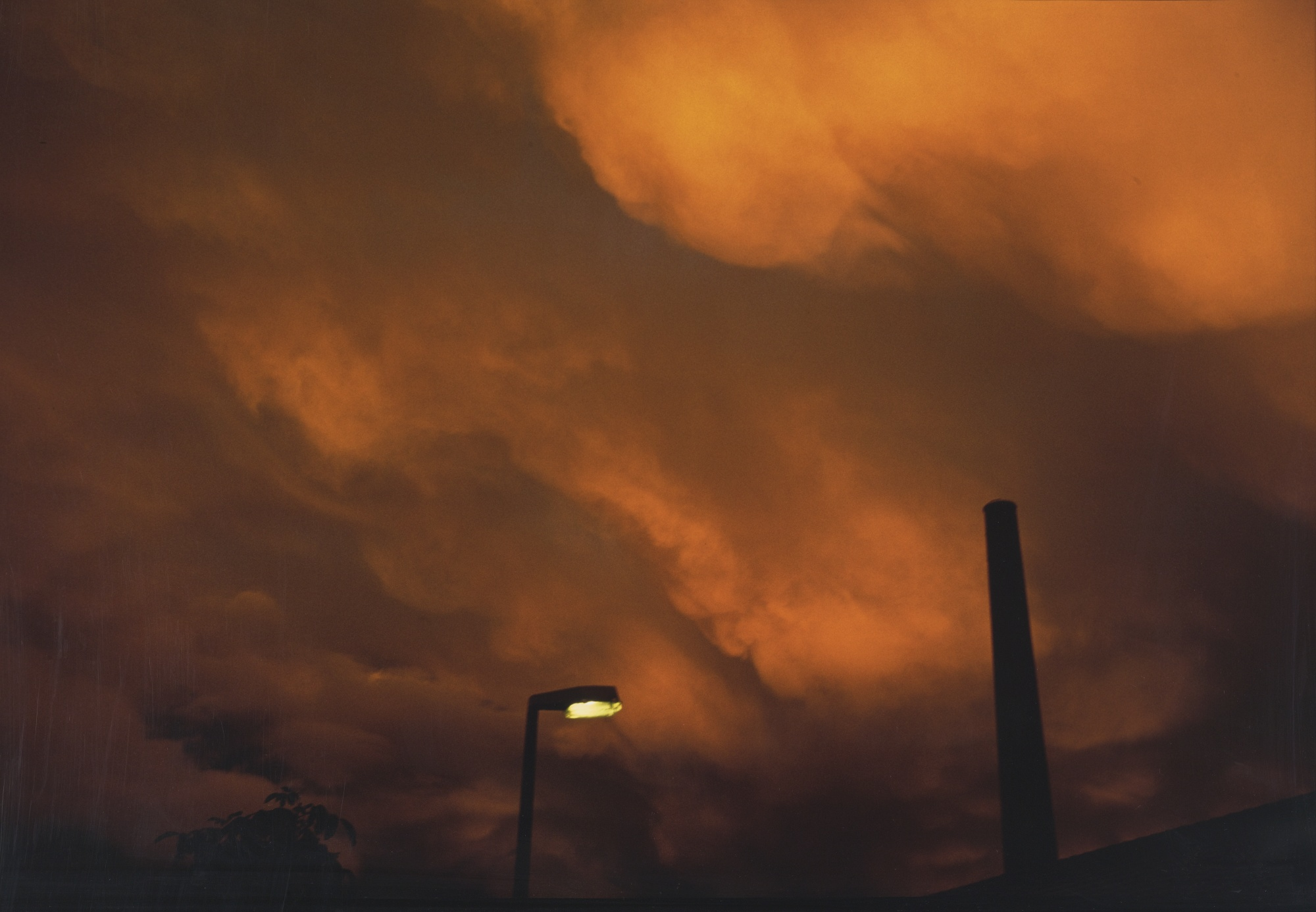 Nan Goldin, <em>The sky on the twilight of Philippine's suicide, Winterthur, Switzerland, </em> 1997.
