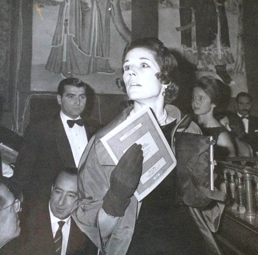 Olga Deterding at the opera. Photo courtesy of the author.