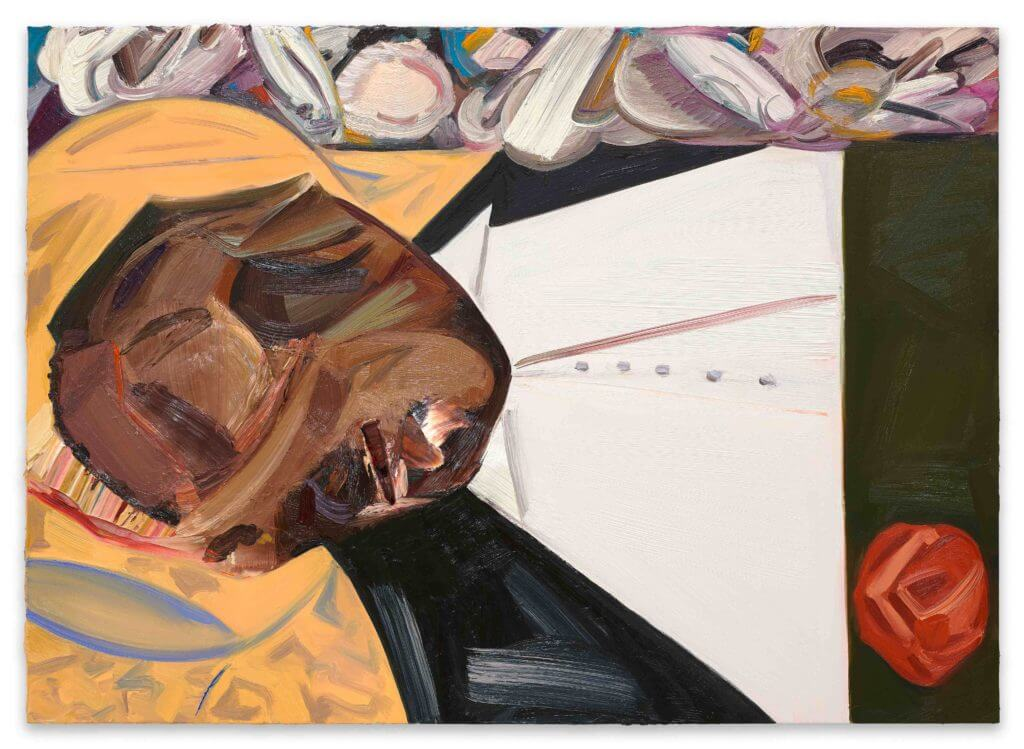 Dana Schutz, <em>Open Casket</em> (2016). Oil on canvas. Collection of the artist; courtesy Petzel, New York.