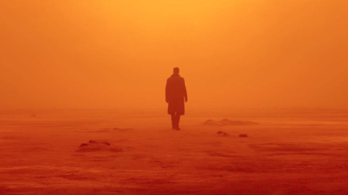 Ryan Gosling in <i>Blade Runner 2049</i>, directed by Denis Villeneuve.
