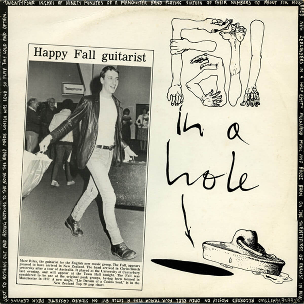 The Fall's <em>Fall In A Hole</em>, originally released by New Zealand's Flying Nun label.