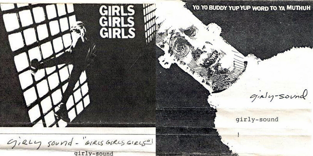 Original art from Liz Phair's Girly-Sound tapes.