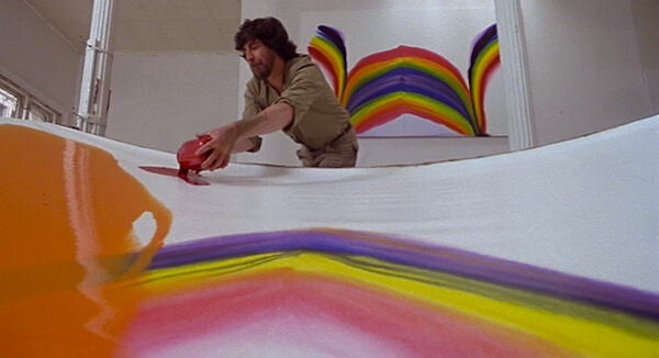 Alan Bates in <em>An Unmarried Woman, </em>, dir: Paul Mazursky, 1978. Cinematography: Arthur J. Ornitz.